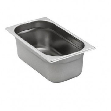 Bacinella Gastronorm GN 1/4 Inox Aisi 304