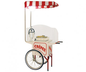 Carrettino espositivo per Crepes
