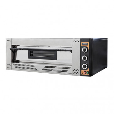Forno per Pizzeria a Gas GASOVEN9 - 1 Camera - N° 9 Pizze Ø Cm 30