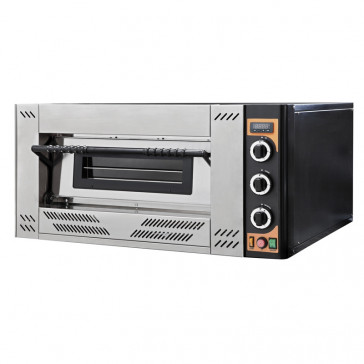 Forno Pizza a Gas GASOVEN4 - 1 Camera - N° 4 Pizze Ø Cm 30