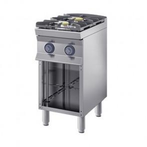 Cucina Fiamma Libera a Gas Cm 40 x 90 x 85/90 h