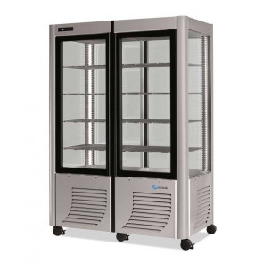 Vetrina Verticale Refrigerata per Gelati 800BT - Temp. -5° -20° - Lt 800