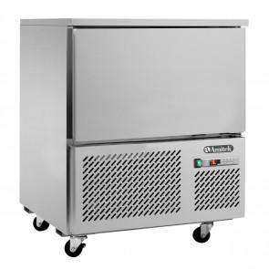Abbattitore di Temperatura 5 Teglie GN1/1 con Sonda al Cuore