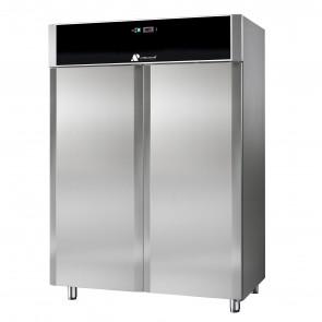Armadio Refrigerato Doppio 1400 Litri GN2/1 Ventilato Inox Aisi 304 Full Optional