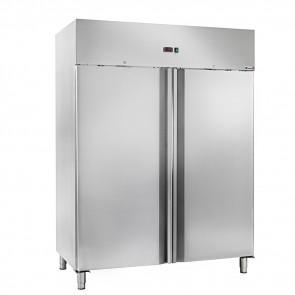 Armadio Refrigerato Ventilato Doppia Anta AK1414TN - Temp -2° +8° - Lt 1333
