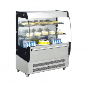 Espositore Refrigerato Murale AK200EM con 2 Ripiani - Temperatura +2° +10° C