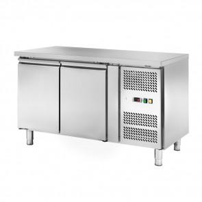 Banco Congelatore Ventilato 2 Porte Cm 136 x 70 x 85 Temp. -18° -22°C