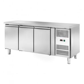 Banco Refrigerato Ventilato 3 Porte AK3100TN - Capacità Lt 417 - Prof Cm 70 - Temp -2° +8°C