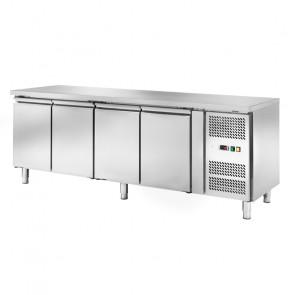 Banco Congelatore Ventilato per Gastronomia AK4104BT - 4 Porte - Capacità Lt 553