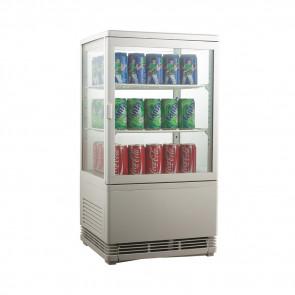 Espositore Refrigerato per Bibite AK58EB - Lt 58 - Temperatura +0° +12° C
