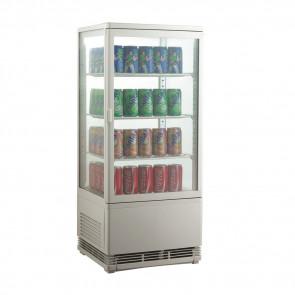 Espositore Refrigerato per Bibite AK78EB - Lt 78 - Temperatura +0° +12° C