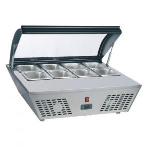 Espositore Refrigerato da Banco AK816RT - Capacità n° 8 GN1/6