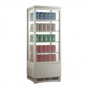 Espositore Refrigerato per Bibite AK98EB - Lt 98 - Temperatura +0° +12° C