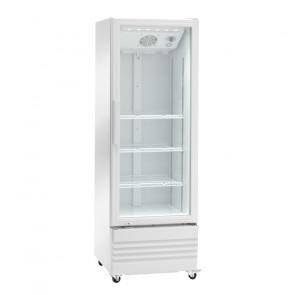 Espositore Refrigerato Ventilato Bibite - N° 4 Ruote - Capacità Lt 216 - Temp +2° +8° C