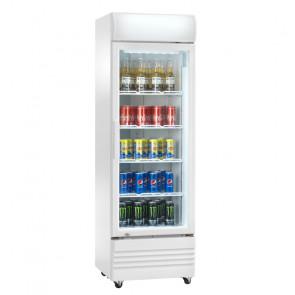 Espositore Refrigerato Ventilato Bibite - N° 4 Ruote - Capacità Lt 320 - Temp +2° +8° C