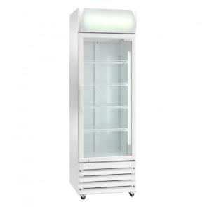 Espositore Refrigerato Ventilato Bibite - N° 4 Ruote - Capacità Lt 335 - Temp +2° +8° C