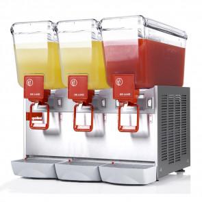 Distributore Bevande Refrigerato 3 Vasche 12 Litri Inox