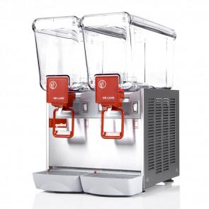Distributore Bevande Refrigerato 2 Vasche 12 Litri Inox