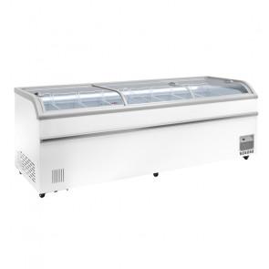 Isola Congelatore/Refrigeratore AX1100DF - Capacità Lt 1100 - Temp -18°C / 0° +8°C