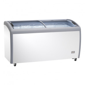 Congelatore/Refrigeratore a Pozzetto AX500CFG - Porta con Vetro Curvo - Capacità Lt 500