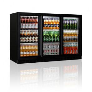 Espositore Refrigerato Retrobanco BBC330H Temperatura +1°/+10°C - 3 Ante a Battente