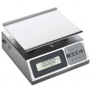 Bilancia Digitale Portatile da Cucina 0 - 40 Kg, Frazione 5 - 10 gr