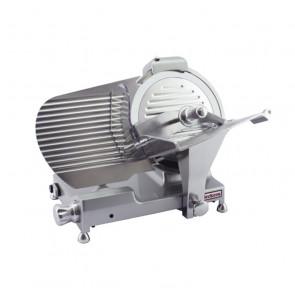 Affettatrice CE a Gravità BKL300 LUX - Alluminio Pressofuso - Affilatoio Fisso - Blocco Carrello - Lama ø 300