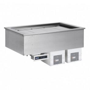 Drop In Soul Plus BLUE - Vasche Refrigerate Ventilate - Gruppo Motore Incorporato