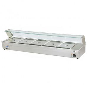 Espositore Bagnomaria da Banco BM105 - Capacità 5 GN1/2