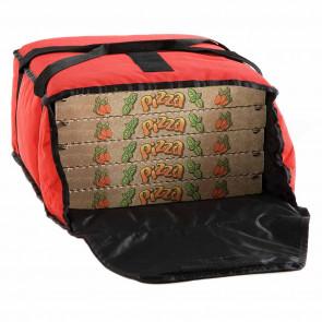 Borsa termica Morbida per pizza, 5 pizze Ø 33 cm