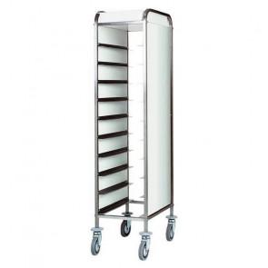 Carrello Porta Vassoi GN1/1 con Pannelli Laterali - Capacità 10 Vassoi - Diversi Modelli