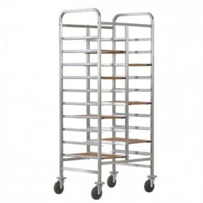 Carrello Porta Vassoi GN1/1 Rinforzato - Capacità 20 Vassoi - Diversi Modelli