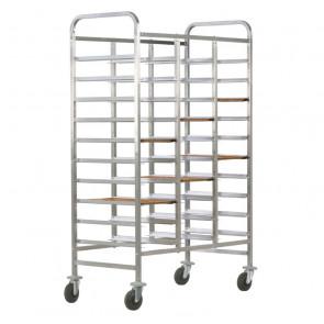 Carrello Porta Vassoi GN1/1 Rinforzato - Capacità 30 Vassoi - Diversi Modelli