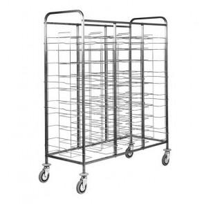 Carrello Porta Vassoi Universali - Capacità 30 Vassoi - Diversi Modelli