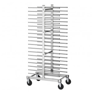 Carrello Portateglie per Pasticceria CA1480D - Capacità 40 Teglie