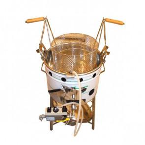 Castafrit a Gas, per frittelle e castagne, capacità 3 Kg
