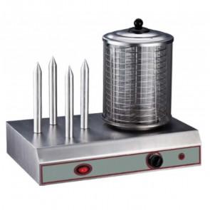 Mantenitore Caldo per Hot Dog CCN4 600 Watt - Cm 49 x 32 x 44 h
