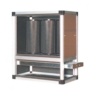 Centrale di Deodorizzazione Aria a Carboni Attivi CF-M30 - Capacità 3000 m3/h