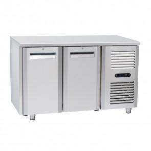 Tavolo Congelatore per Gastronomia - 2 Porte - Profondità Cm 70 - Capacità 210 - Temp -22° -18° C