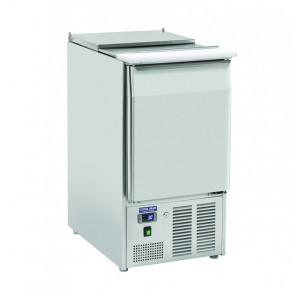 Saladette Refrigerata GN1/1 - Top Inox Apribile - Capacità Lt 230 - Temp 0° +8° C
