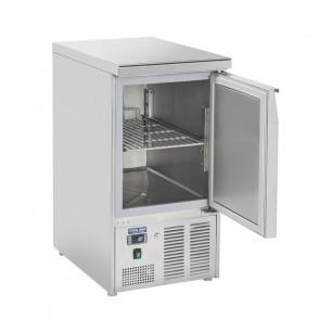 Saladette Refrigerata GN1/1 - Top Inox Chiuso - Porta Unica -  Capacità Lt 215 - Temp 0° +8° C