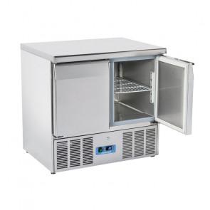 Saladette Refrigerata Statica GN1/1 2 Porte - Top Inox - Capacità Lt 215