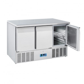 Saladette Refrigerata Statica GN1/1 3 Porte - Top Inox - Capacità Lt 350