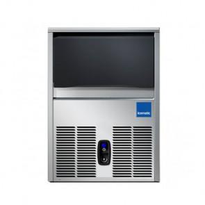 Fabbricatore di Ghiaccio Icematic CS50 Prod/24h 54 Kg, Deposito 18 Kg - Cubetto Pieno