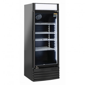 Espositore Refrigerato Bibite DC328CB Litri 300 +1° +10°C - Nero