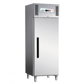 Armadio Congelatore ECV600BT 1 Anta in Acciaio Aisi 403 - Refrigerazione Ventilata - Lt 537 - Temp. -18° -20° C