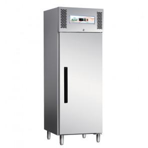 Armadio Frigorifero ECV600TN 1 Anta in Acciaio Aisi 403 - Refrigerazione Ventilata - Lt 537 - Temp. -2° +8° C