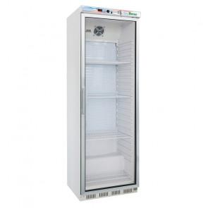Armadio Refrigerato ER400G con Porta in Vetro 350 Litri - Temp. +2° +8° C