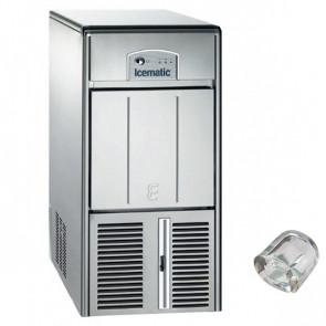 Fabbricatore di Ghiaccio Icematic E21 Prod/24h 21 Kg, Deposito 7 Kg
