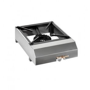 Fornellone Professionale in Acciaio Inox per Uso Esterno - GPL o Gas Metano